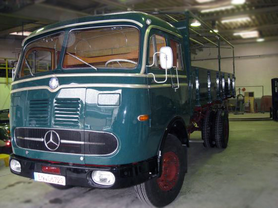 Camion Mercedes Rc